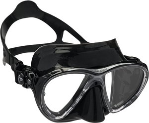 TSK Shop ABC Masken Cressi Big Eyes Evo dark Schwarz / Schwarz