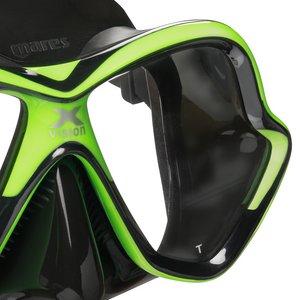 TSK Shop ABC Masken Mares X-Vision Schwarz / Gelb