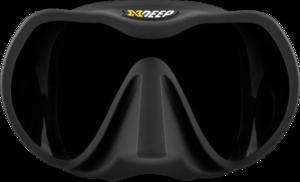 TSK Shop ABC Masken Xdeep Frameless Mask Schwarz