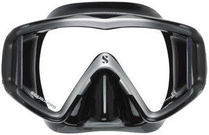 TSK Shop ABC Masken Scubapro Crystal Vu Schwarz / Silber