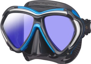 TSK Shop ABC Masken Tusa Paragon Schwarz / Fishtail Blue