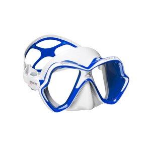 TSK Shop ABC Masken Mares X-Vision Ultra LiquidSkin Weiss / Blau