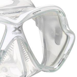 TSK Shop ABC Masken Mares X-Vision Transparent / Weiss
