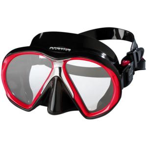 TSK Shop ABC Masken Atomic Aquatics SubFrame Schwarz / Reef Red