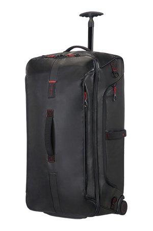 TSK Shop Tauchausrüstung Taschen & Aufbewahrung Samsonite Paradiver Light/ Duffle 79/29 Schwarz 121.5liter / 3.2kg