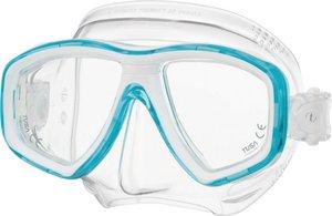 TSK Shop ABC Masken Tusa Freedom CEOS Transparent / Lagoon Blue