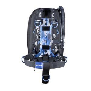 TSK Shop Tauchausrüstung Jackets Mares Blue Battle Single Backmount Set