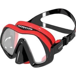 TSK Shop ABC Masken Atomic Aquatics Venom Frameless Maske Rot