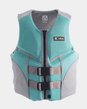 TSK Shop Freizeit SUP, Surfen & allg. Wassersport Follow Cure Womens CGA Jacket Teal 10 / M