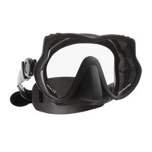 TSK Shop ABC Masken Scubapro DEVIL Maske Schwarz/Schwarz