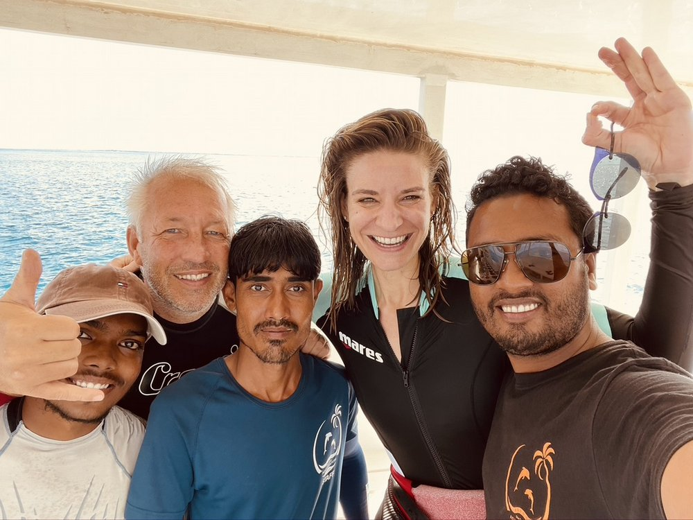 TSK customer story-Maldives dive crew