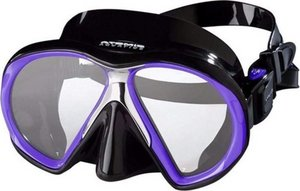 TSK Shop ABC Masken Atomic Aquatics SubFrame Medium Schwarz / Purple