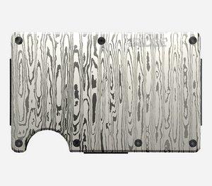 TSK Shop Freizeit Lifestyle & Accessoires Ridge Wallet The Ridge Steel Damascus